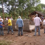 Help a community build a bath house or bring water to a community