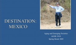 Destination Mexico Powerpoint