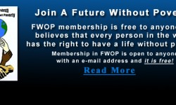 Join A Future Without Poverty